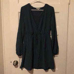 Long sleeve, flowy dress